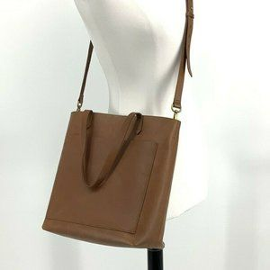 Madewell Medium Transport Tote Whiskey Brown bag